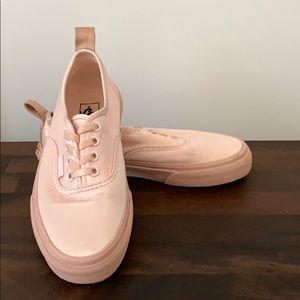 Vans Ballerina Pink Satin Shoes